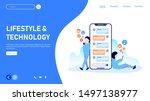 vector illustration set of...   Shutterstock .eps vector #1497138977