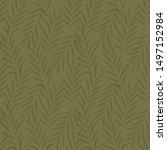 seamless floral pattern....   Shutterstock .eps vector #1497152984