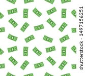 seamless dollar vector sign ...   Shutterstock .eps vector #1497156251