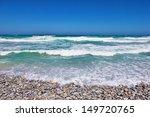 Pebble Beach With Ocean  Cape...
