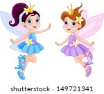 illustration of two cute... | Shutterstock .eps vector #149721341