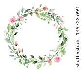Wreath  Floral Frame ...