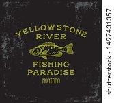 Fishing Vintage Graphic Tee...