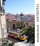 lisbon  portugal   september 1  ...   Shutterstock . vector #1497507911