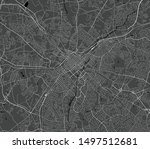 vector map of the city of... | Shutterstock .eps vector #1497512681