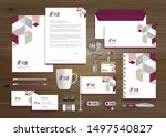 corporate business identity...   Shutterstock .eps vector #1497540827