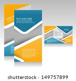 brochure design | Shutterstock .eps vector #149757899