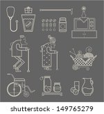 granny icons | Shutterstock .eps vector #149765279