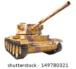 british medium tank 1950.... | Shutterstock . vector #149780321