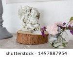 Interior A Statuette In The...