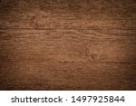 old brown wooden wall  detailed ... | Shutterstock . vector #1497925844