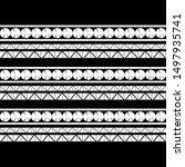 ethnic boho seamless pattern.... | Shutterstock .eps vector #1497935741