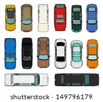 set of various isolated 3d cars | Shutterstock . vector #149796179