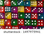 Colorful Playing Cubes....