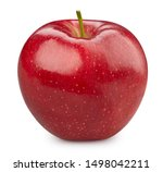 Red Apple Isolated On White....