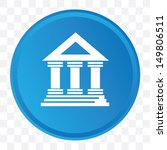 Bank symbol,vector - stock vector