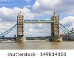 tower bridge  1886     1894   ... | Shutterstock . vector #149814101