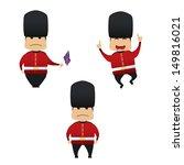 Royal Guard Doing Actions...
