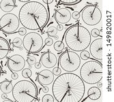 Vintage Bicycle Seamless ...