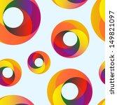 vector circles abstract... | Shutterstock .eps vector #149821097