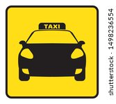 icon travel by taxi silhouette...   Shutterstock .eps vector #1498236554