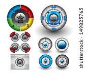 vector circle diagrams for... | Shutterstock .eps vector #149825765