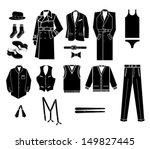 man fashion vector illustration | Shutterstock .eps vector #149827445