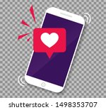 smartphone screen with get...   Shutterstock .eps vector #1498353707