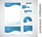 corporate identity templates... | Shutterstock .eps vector #149846444