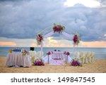 wedding set up | Shutterstock . vector #149847545