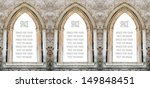 Gothic Windows With Space For...