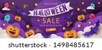 Halloween Sale Promotion Banne...