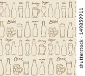 assorted beer cocktail and... | Shutterstock .eps vector #149859911