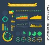 vector flat info graphics...   Shutterstock .eps vector #149861957