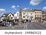 Glastonbury Town Centre In...