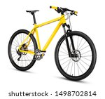 Yellow black 29er mountainbike...