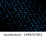 dark blue vector template with... | Shutterstock .eps vector #1498767851