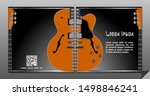 electric guitar vector square...   Shutterstock .eps vector #1498846241