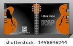 electric guitar vector square...   Shutterstock .eps vector #1498846244