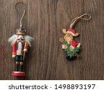 Nutcracker Soldier And Santa...
