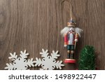 Isolated Nutcracker Soldier An...
