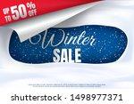 vector illustration. winter... | Shutterstock .eps vector #1498977371