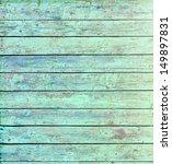 Aquamarine Wooden Wall Texture...