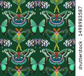 Seamless Pattern. Collection Of ...