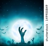 halloween background. eps 10 | Shutterstock .eps vector #149900849