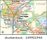 las vegas  nevada area map | Shutterstock .eps vector #149901944