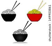 vector illustration set showing ... | Shutterstock .eps vector #149903861