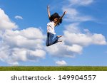 outdoor portrait of a smiling... | Shutterstock . vector #149904557