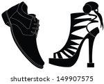 shoes | Shutterstock .eps vector #149907575