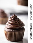Chocolate Cupcake On Marble...